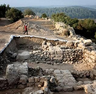 Fortified Walls at Khirbet Qeiyafa