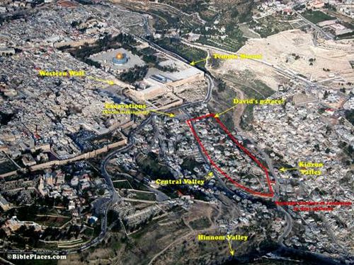 Temple Mount and King David's Palace
