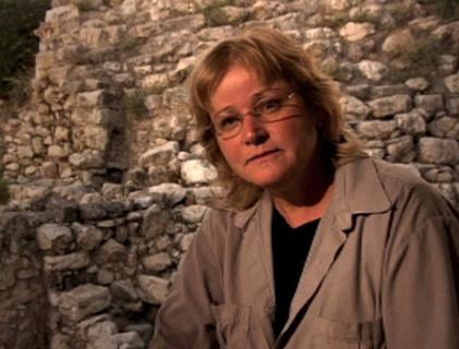 Dr. Eilat Mazar, the eminent archeologist at City of David