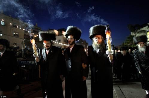 Hasidic Polish Belz Dynastic Wedding002