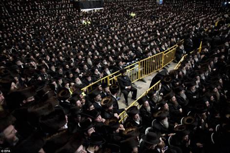 Hasidic Polish Belz Dynastic Wedding006