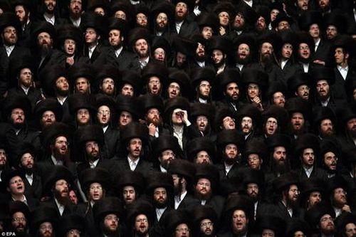 Hasidic Polish Belz Dynastic Wedding020
