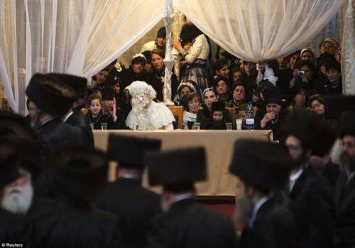 Hasidic Polish Belz Dynastic Wedding009