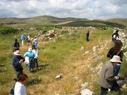 Ancient Site of the Wilderness Tabernacle at Shiloh