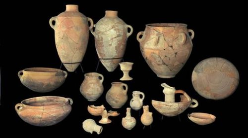 Pottery King David's Palace Khirbet Qeiyafa