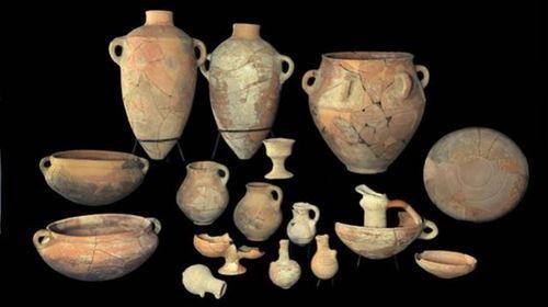 Pottery King David's Palace Khirbet Qeiyafa