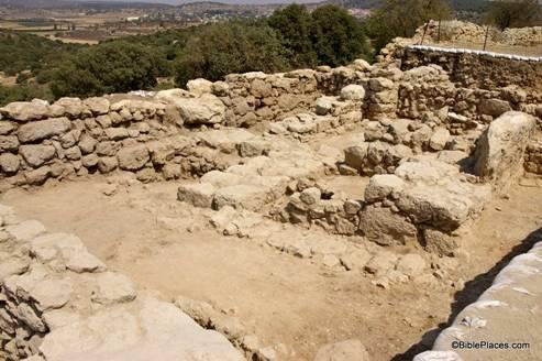 Khirbet Qeiyafa Four-Chambered Gatehouse