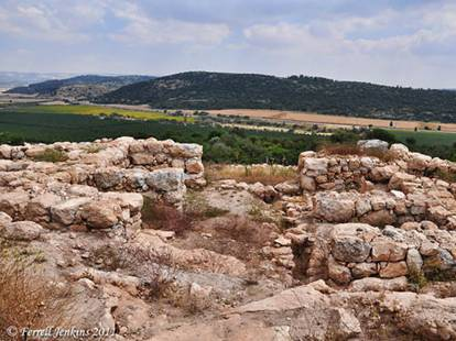 Khirbet Qeiyafa's Four-Chambered Iron Age Gate towards Socoh