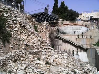 Eilat Mazar's Excavations on King David's Palace