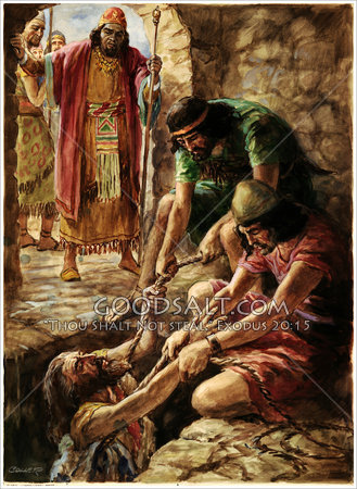 Prophet Jeremiah extracted from the Pit in the Courtyard of the Confinement