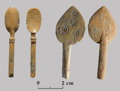 Household utensils Carved in Ivory Palace King David