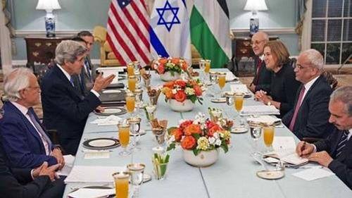 Israeli-Palestinian Middle East Process Peace Talks