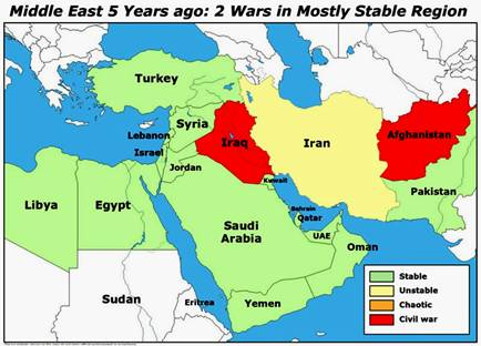 The World Powers Are Aligning Themselves For And Against Persia Iran