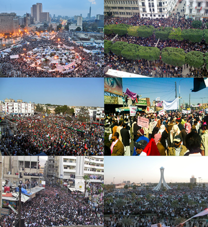 Arab Spring Revolutions in the Middle East