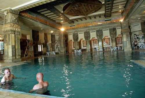 Swimming Pool at Saddam Hussein's Royal Palace near Tikrit