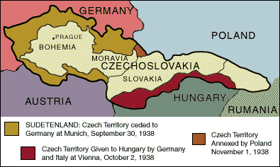 Czech Sudetenland in 1938