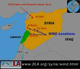 Weapon Burial Sites of Saddam's WMD in Syria