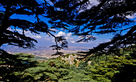 Mountains of Lebanon where  Hussein's Chemical Weapons are Stored