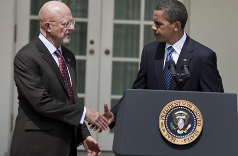 Lt. Gen. James R. Clapper Jr as Obama's National Intelligence Service