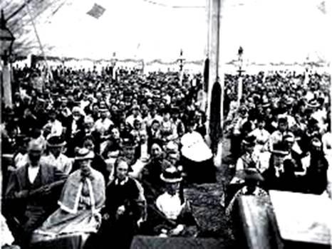 Millerite Camp Meeting 1840s