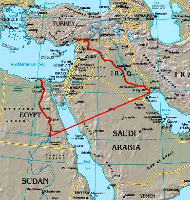 on 12 tribes of israel today map
