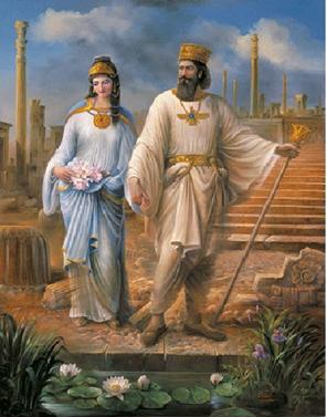 King Cyrus the Great and Queen Esther
