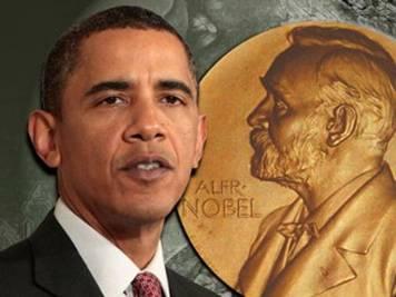 """Obama; """"The Nobeled One"""""""