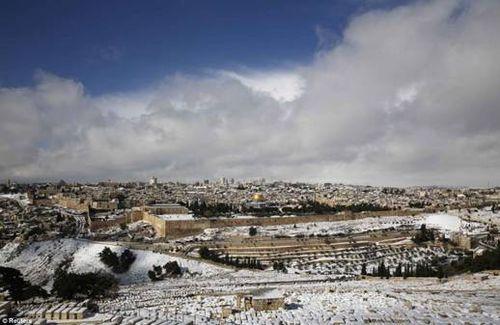 Jerusalem Epic Snowstorm