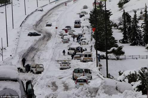 Jerusalem Snow Seige
