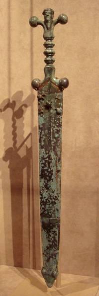 British Celtic Sword and Scabbard