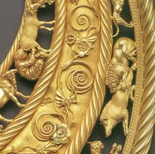 Scythian Gold Pectoral