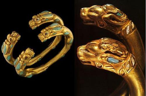 Israelite Scythian Torque from the Tilia Tepe burial