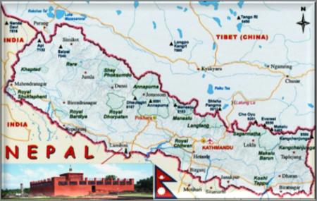 Buddhist Land of Nepal at Limbini