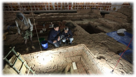 Excavated Site of the Birth Place of the Buddha Mundi