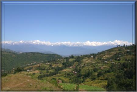 Foothills of Nepal Kathmana