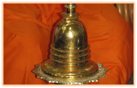 Gold Urn Relics of Buddha