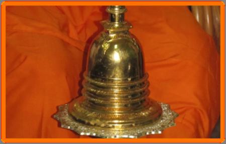 Gold Urn Relics of Buddha