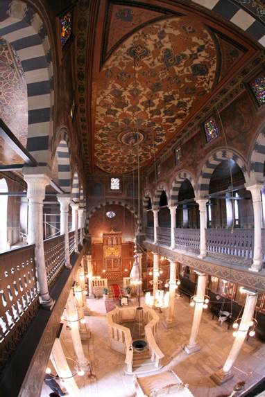 Ben Ezra's Synagogue in Cairo, Egypt