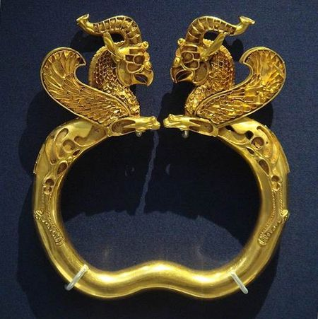 Golden Griffin Bracelet of the Lost Israelite Scythians