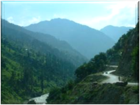 Kunar River Valley where Lost Israelite Aspasioi resisted Alexander