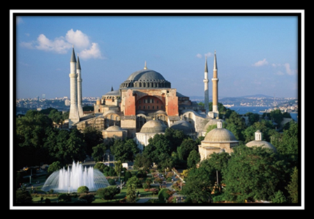 Istanbul and the Church of the Hagia Sophia
