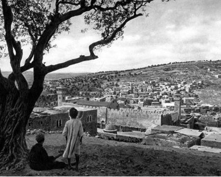 City of Hebron in 1929, the Year of the Massacre of Jews