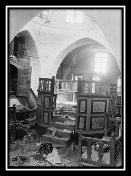 Ransacked Jewish Synagogue in Hebron
