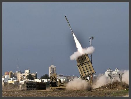 Iron Dome Missile launched