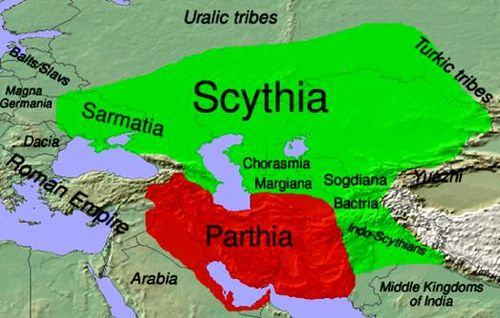 Land of Arsereth as the Sarmatia