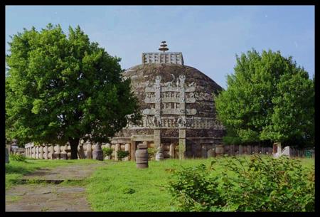 Ashokan Pillar - Topez Sanchi