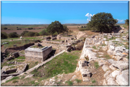 Ancient Troy, Lost Israelite Fortress at  Dardanelles
