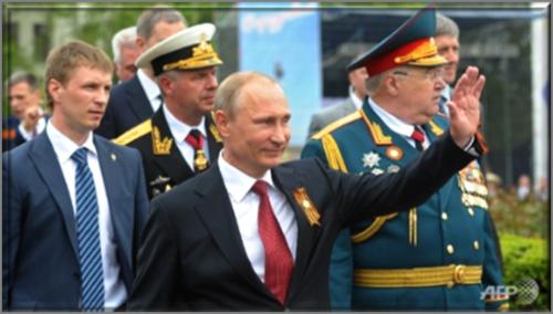 President Putin Victory Day Celebrations in Sevastopol