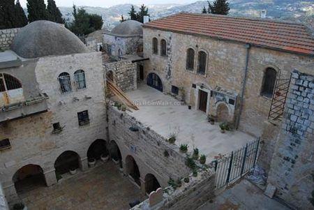 Church with Upper Room, Tomb King David and Jewish Yeshiva below
