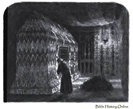 Tomb of King David in Jerusalem, 19th Century